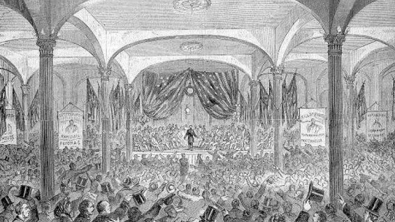 Abraham Lincoln in The Great Hall