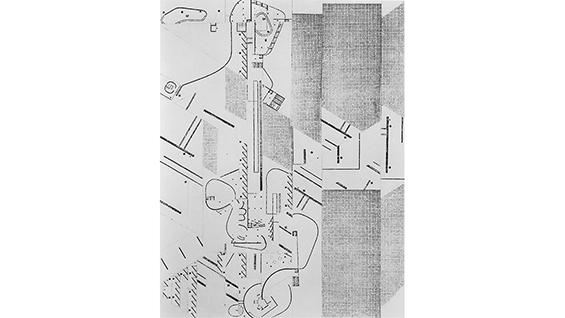 Daniel Libeskind. Collage. Thesis, 1969-70.