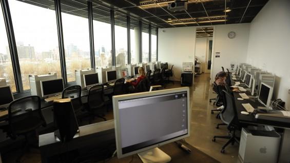 Computer Studio classroom