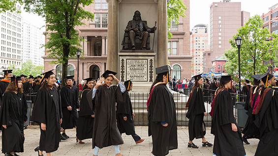 Members of The Cooper Union class of 2018