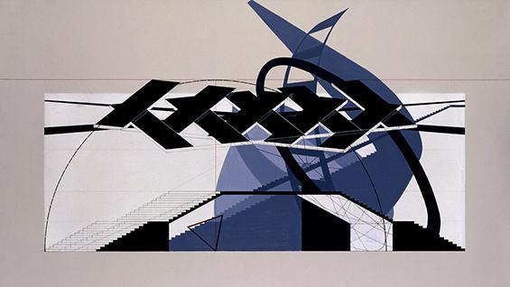 Analysis: Konstantin Melnikov, USSR Pavilion. Charles Krekelberg – Design III, Spring 1995.