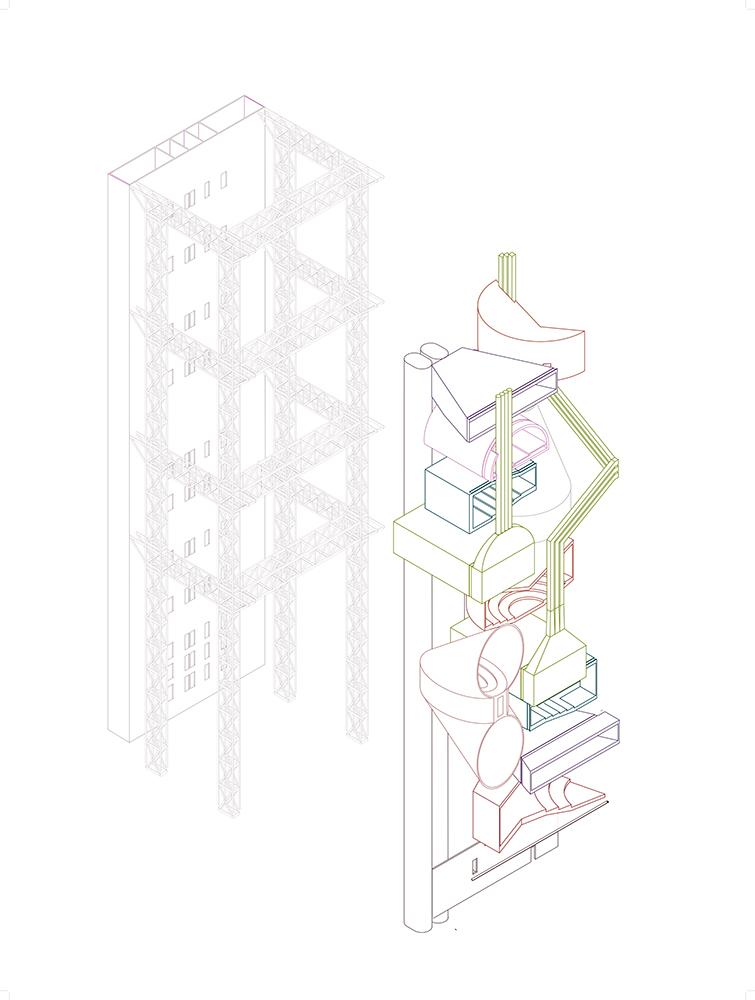 selected undergraduate design studio projects