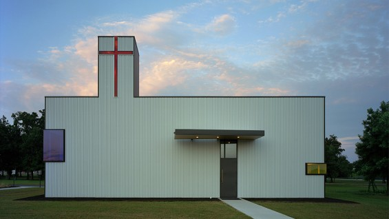 Marlon Blackwell Architects, Saint Nicholas Eastern Orthodox Church | photo by Timothy Hursley