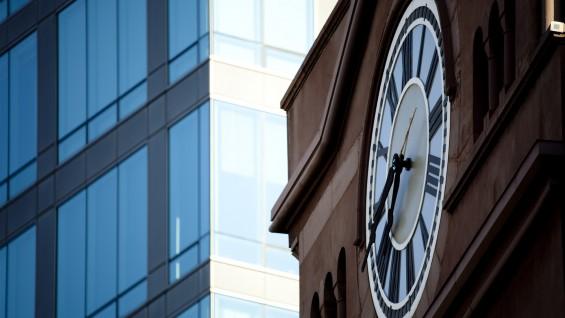Foundation Building Clock