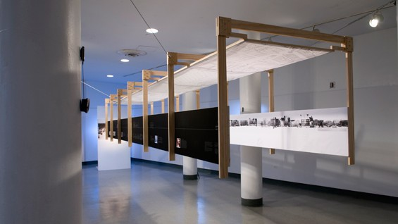 'Jaffa' (installation view) by Dorit Aviv AR'09, part of the 2009 Menschel Exhibition