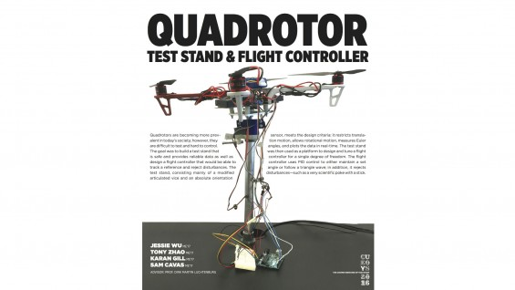 CU EOYS 2016 -- Quadrotor