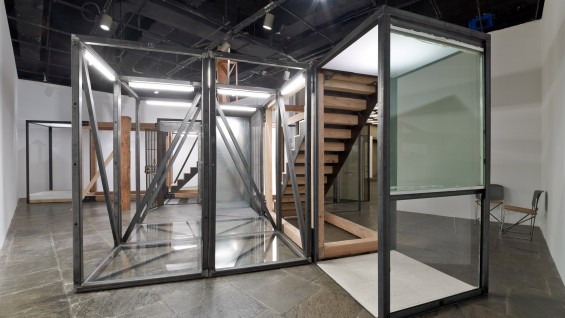 Oscar Tuazon, 'For Hire', 2012, 2012 Whitney Biennial, installation view.