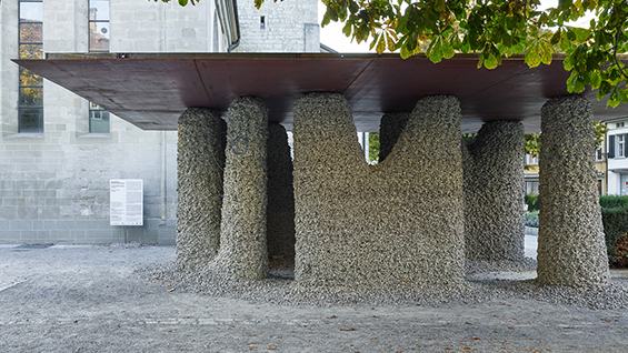 Rock Print Pavilion, 2018, Winterthur  Photo credit: Georg Aerni