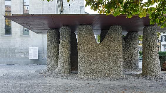 Rock Print Pavilion, 2018, Winterthur  Photo credit: Georg Aerni