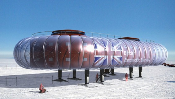 Hopkins Architects—British Antarctic Survey | photo: Hopkins Architects