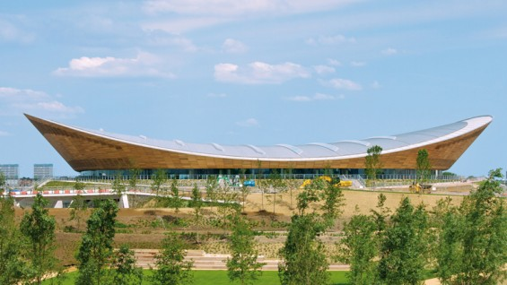 Hopkins Architects—2012 London Velodrome | photo: Anthony Palmer