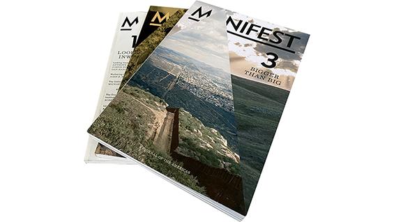 Manifest #3, Cover. Image Courtesy of Anthony Acciavatti.