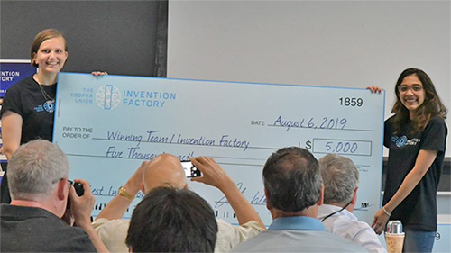 Winners of Invention Factory 2019 Announced