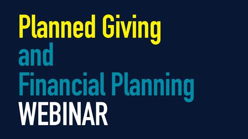 Planned Giving Webinar