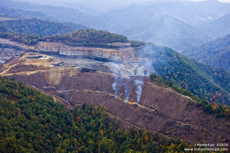 the mountain removal valley fill environmental issues Surface mining (strip, open pit, mountain top removal) is used when coal is near the surface  big environmental impacts  (valley fill) into nearby valleys .