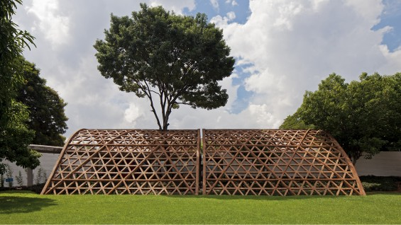 Gabinete de Arquitectura, Teletón Children's Rehabilitation Center. Asunción, Paraguay, 2013. Image courtesy of Leonardo Finotti