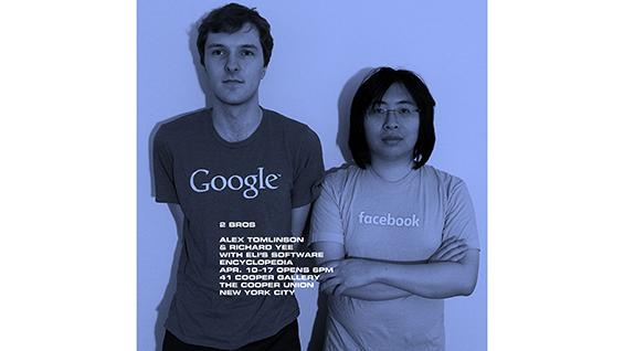 senior presentation, Alex Tomlinson and Richard Yee