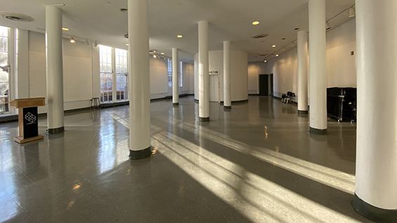 Empty 3rd Floor Lobby, Image Credit: Chong Gu, AR '20