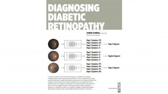[STUDENT POSTER] DIAGNOSING DIABETIC RETINOPATHY