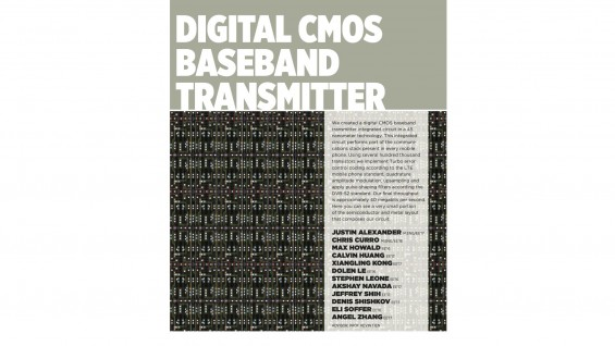 [STUDENT POSTER] DIGITAL CMOS BASEBAND TRANSMITTER