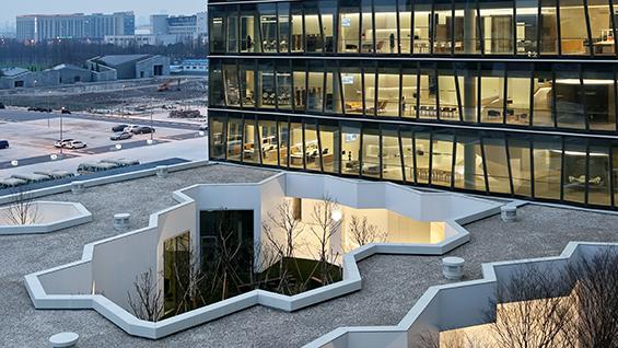 ZAO/standardarchitecture, Novartis Campus Building C10, Shanghai, China, 2016 © Su Su Shengliang