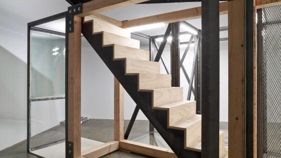 Oscar Tuazon, 'For Hire', 2012, 2012 Whitney Biennial, installation view.