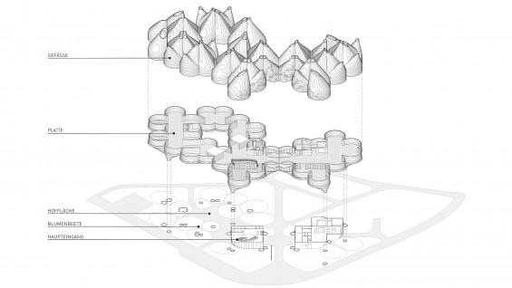 Young & Ayata - Vessel Collective Bauhaus Museum  Axon