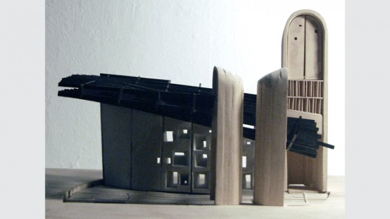 Design III: Notre Dame du Haut Chapel Analysis. Fall 2008.