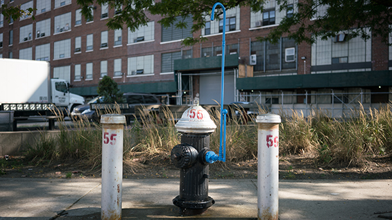 New Public Hydrant: Hydrant on Tap. Image courtesy of Agency-Agency.