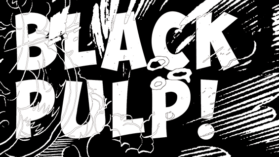 Black Pulp! postcard