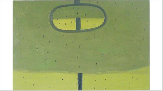 "Robert Bordo, ""Rear-view"", 24x36"", oil on canvas"