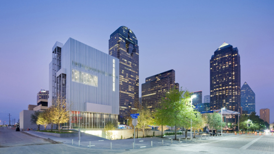 The Wyly Theater in Dallas, Texas