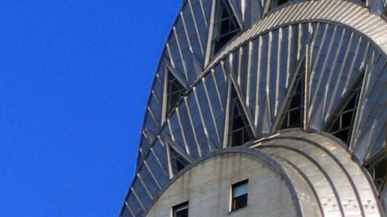 The Chrysler Building (detail) via wiki commons