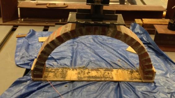 Testing of Masonry Arch