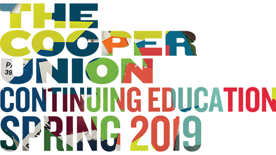 Continuing Education Spring 2019 NYC classes