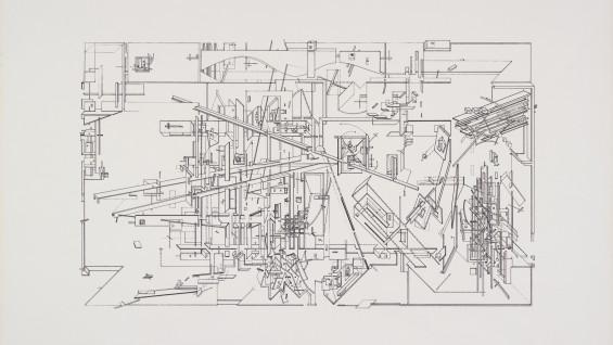 Daniel Libeskind, The Garden, 1979.