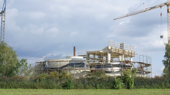 Construction photos by Raimund Abraham