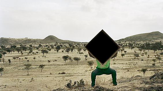 Single Cube Formation, No. 4, Nazareth, Ethiopia (2011). Chromogenic Digital Print.