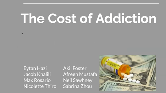 EID101 Section D Student Presentation on The Cost of Addiction