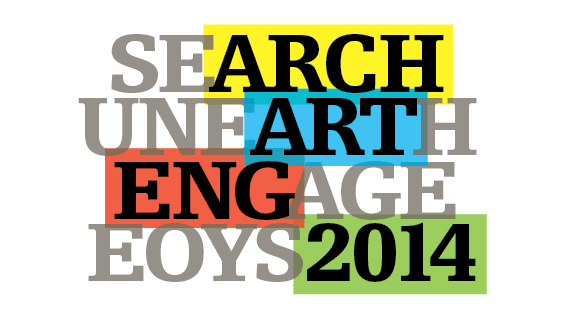 End of Year Show 2014 logo