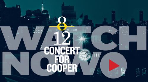 Concert for Cooper