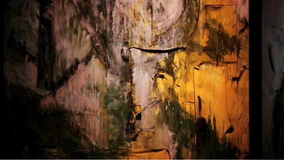 Exhibtion image for El Reino de este Mundo, Senior Presentation by School of Art student Jeankarlos Cruz