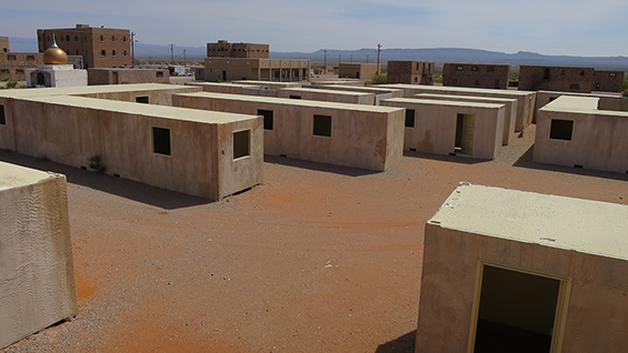 Image: Fronts - Ft. Bliss Refugee Camp