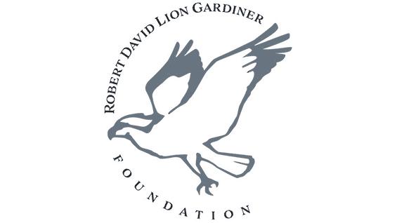 Robert David Lion Gardiner Foundation Logo