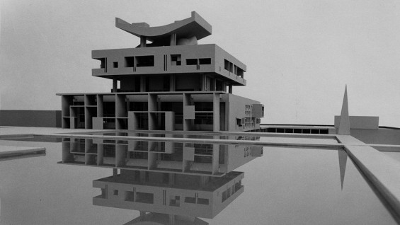 Analysis: Le Palais du Gouverneur, Alexander Gorlin, Design III, Fall 1975