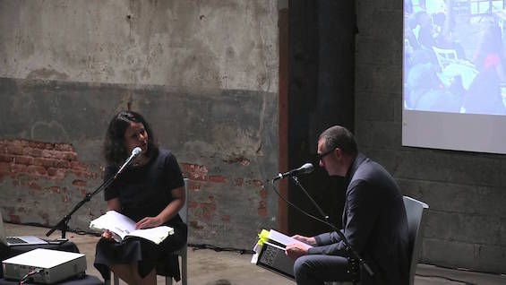 Gramsci Monument Book Launch: Thomas Hirschhorn in conversation with Yasmil Raymond (2013)