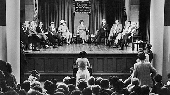 New York Mayoral Primary Debate. August 30, 1978