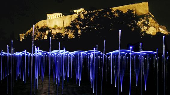 Höweler + Yoon: White Noise White Light, 2004, Greece  Courtesy of Höweler + Yoon
