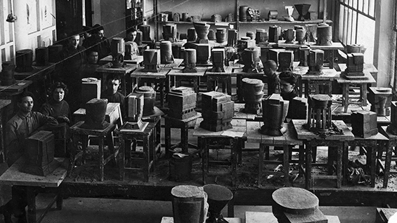 'Space' Course Classroom, 1927 | Museum of the Moscow Architectural Institute