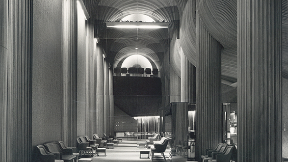Photograph by George Cserna. Avery Architectural & Fine Arts Library, Columbia.